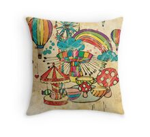 Funfair Throw Pillow