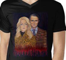 Hannibal & Bedelia Mens V-Neck T-Shirt