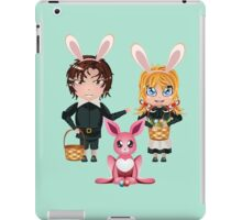 Easter Boy and Girl 2 iPad Case/Skin