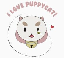 I love Puppycat! Kids Clothes