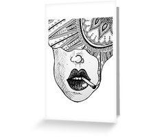 Smoke Dreams Greeting Card