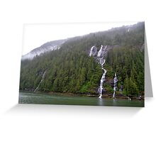 Misty Fjord 3 Greeting Card