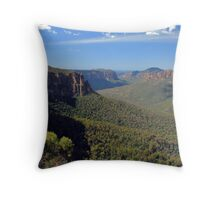 Grose Valley Throw Pillow