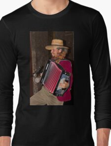 Argentinian Accordion Player Long Sleeve T-Shirt