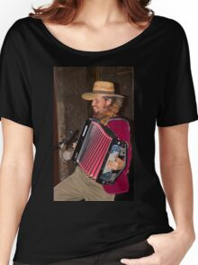 Argentinian Accordion Player Women's Relaxed Fit T-Shirt