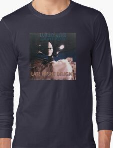 Late Night Delight by Luxury Elite and Saint Pepsi Long Sleeve T-Shirt