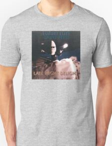 Late Night Delight by Luxury Elite and Saint Pepsi Unisex T-Shirt