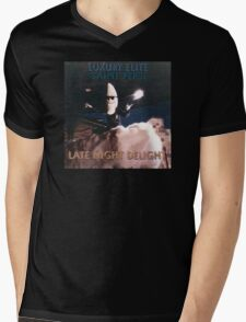 Late Night Delight by Luxury Elite and Saint Pepsi Mens V-Neck T-Shirt