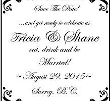 Save The Date by Tracy Deptuck