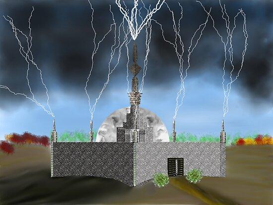 Lightning Repository - Renewable Energy?  by Sandra Chung