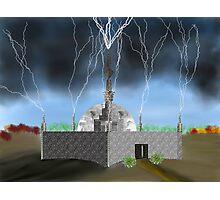 Lightning Repository - Renewable Energy?  Photographic Print