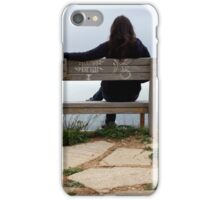 On the Edge of Nowhere iPhone Case/Skin