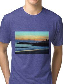 Sunset at the Beach Tri-blend T-Shirt