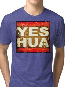 RUN TO YESHUA vintage Tri-blend T-Shirt