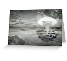Inception Landscape Greeting Card