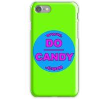 "Do Candy - ""Abuse Awareness via Art"" - Blue/Pink Logo iPhone Case/Skin"