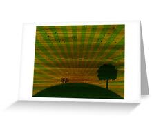 Summer wallpapers Greeting Card
