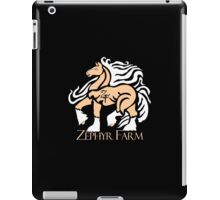 Zephyr Farm Logo iPad Case/Skin