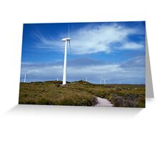 10 Mile Beach Wind Farm Greeting Card