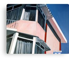 Motel II Canvas Print