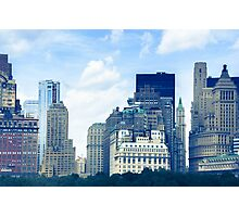 New York Cityscape from the water Photographic Print