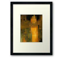 pixel klimt Framed Print