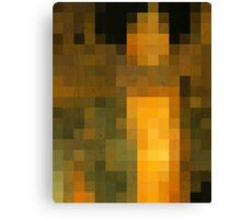 pixel klimt Canvas Print