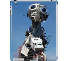 Waste Electrical and Electronic Recycled Cool Robot Man iPad Case/Skin