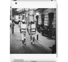 Gay lgbt sailors Chueca Spain analog 35mm film street photo iPad Case/Skin