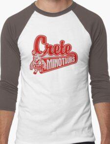 Crete Minotaurs Men's Baseball ¾ T-Shirt