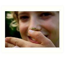 Miniture frog  Art Print