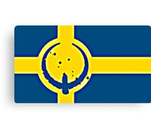 Sweden Quake Canvas Print