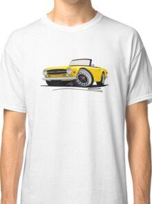 Triumph TR6 Yellow Classic T-Shirt