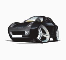 Smart Roadster (BLK) Black by Richard Yeomans