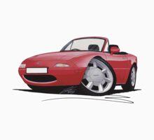 Mazda MX5 / Miata (Mk1) Red
