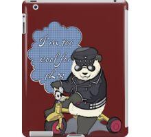 2 Cool 4 School iPad Case/Skin