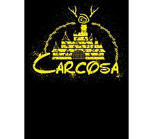 Carcosa | True Detective | Disney Yellow Distressed Photographic Print