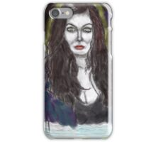 my succubus walks the night by richard g tanzer iPhone Case/Skin