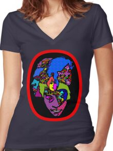 Arthur Lee Love Forever Changes T-Shirt Women's Fitted V-Neck T-Shirt