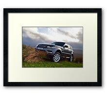 Range Rover Framed Print