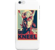 Loki - Kneel iPhone Case/Skin