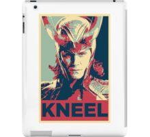 Loki - Kneel iPad Case/Skin