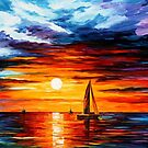 Touch Of Horizon — Buy Now Link - www.etsy.com/listing/179405964 by Leonid  Afremov