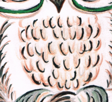 Those Owl Spectacles Sticker