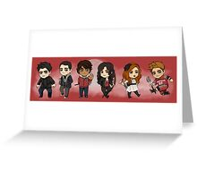 season 1 Greeting Card