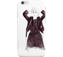 Polka Dot Dress iPhone Case/Skin