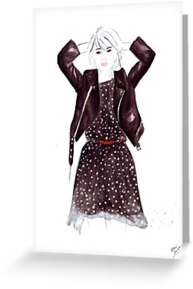 Polka Dot Dress by FallintoLondon