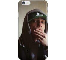 Hiphop rap singer medium format Hasselblad portrait photograph iPhone Case/Skin