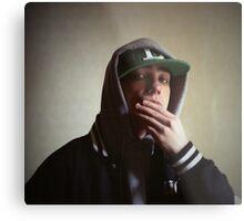Hiphop rap singer medium format Hasselblad portrait photograph Metal Print