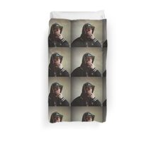 Hiphop rap singer medium format Hasselblad portrait photograph Duvet Cover